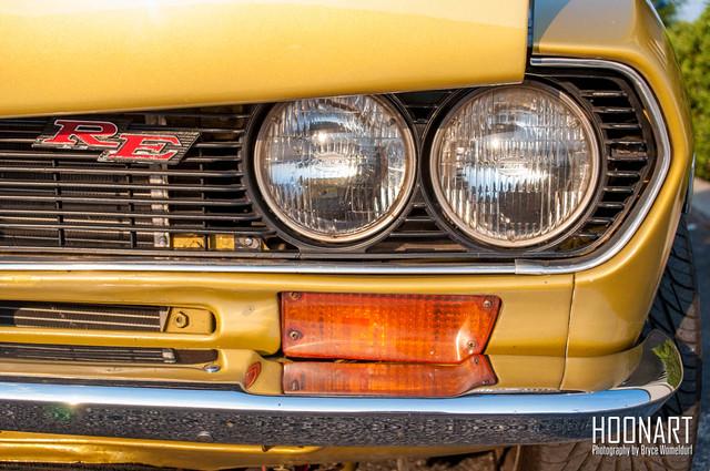 Mazda RX-2 headlights