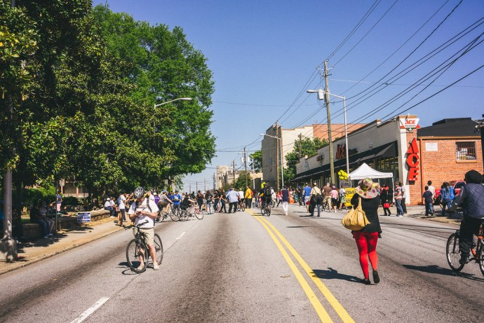 Atlanta Streets Alive 2014 - West End
