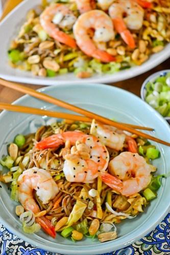 Cucumber & Kimchi Noodle Salad-9