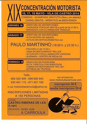 XIX Concentración Motorista Vila de Castro