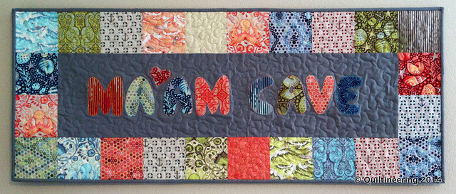 Ma'am Cave Finished Quilt