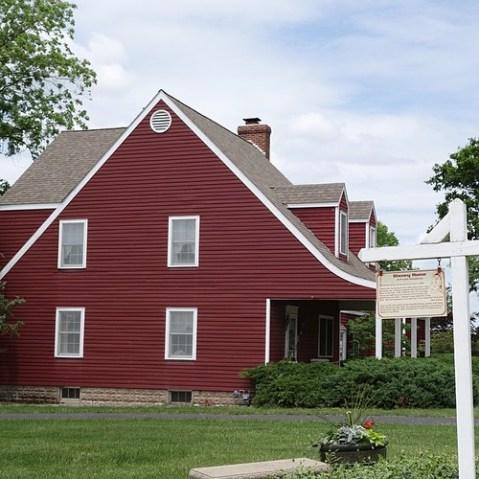 ウォルトが住んでいた家。現在は別の人が住んでます。