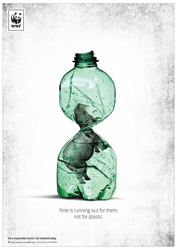 WWF India - Bottled Rhinoceros