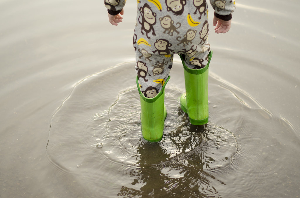 short story // puddle jumping 8