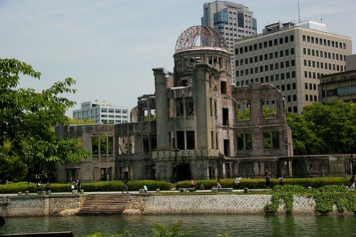 Hiroshima ground zero