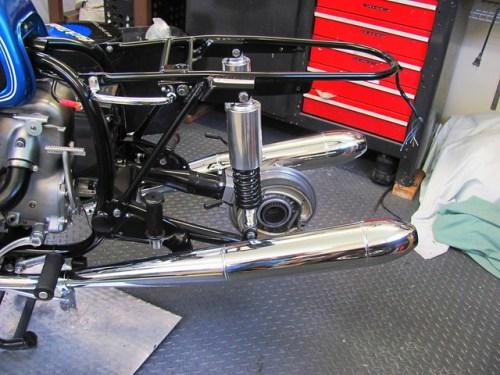 Remove Rear Wheel to Mount Rear Fender