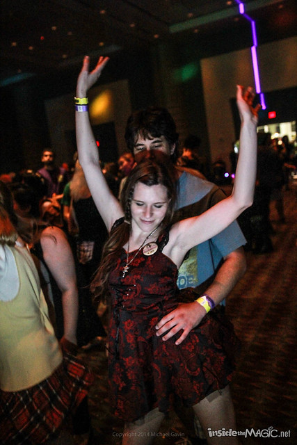 Cyberia anime dance party at MegaCon 2014