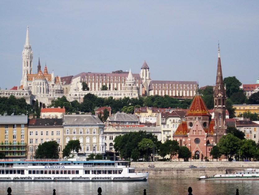 Matthias Church on Castle Hill, Budapest.