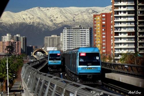 Metro de Santiago - Alstom NS93 - Línea 5 - Cordillera de los Andes