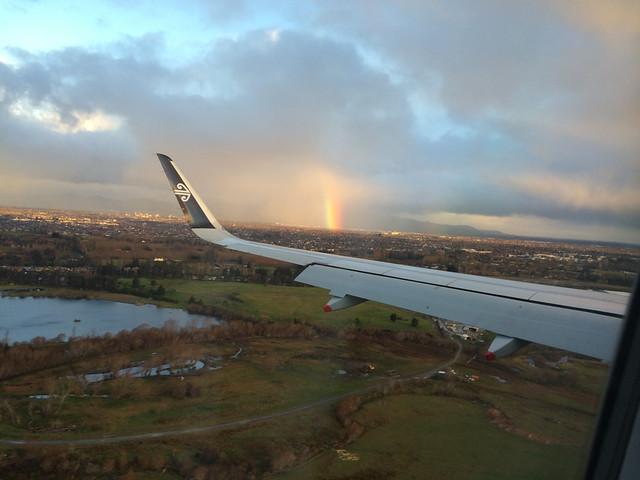 Rainbow in Christchurch
