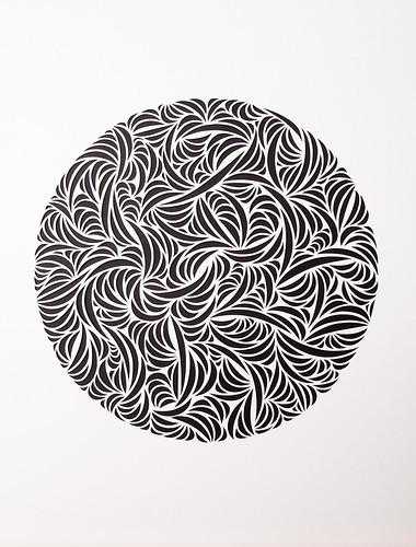 Paper Cut Circles