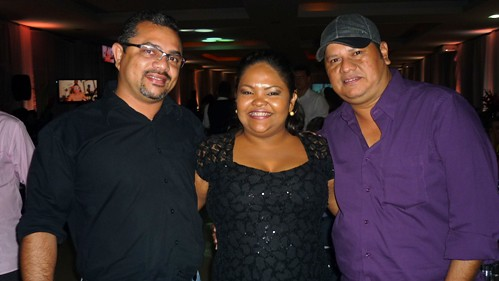 Alailson Muniz, Nel Fernandes e Marco Santos