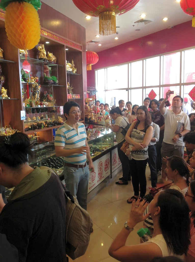 At Feng shui store