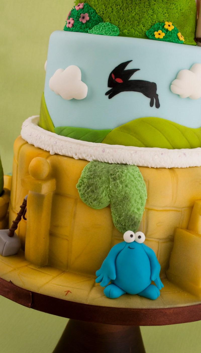 61. Cake of awesome