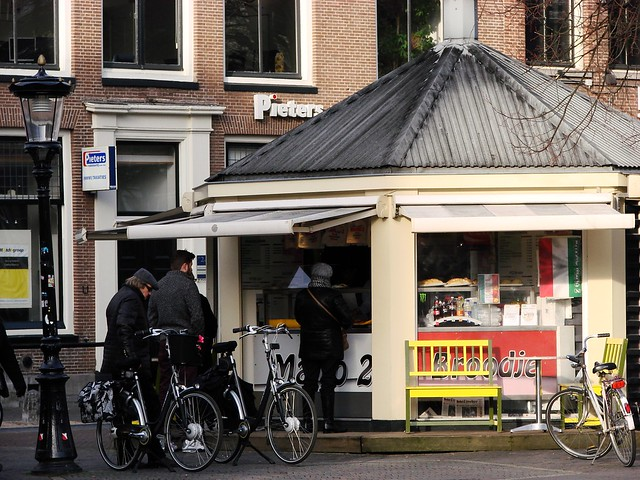 Weekly Photo Challenge: Street (and Bicycle) Life in Utrecht (3/4)