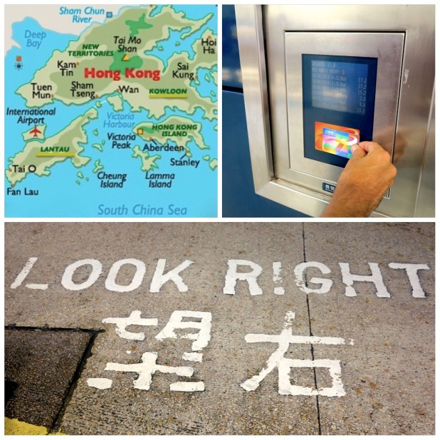 Mapa Hong Kong