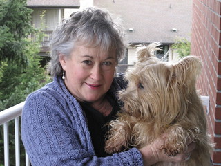 20070209 - Marilyn & her dog