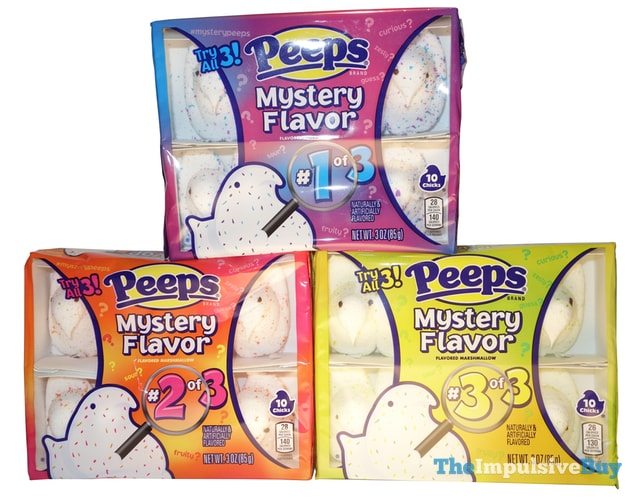 Peeps Mystery Flavors (2017)