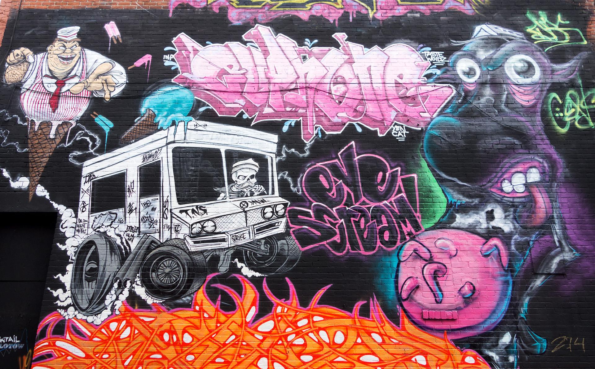 Ice Cream - Mural