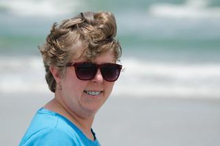 Laura at Avalon Beach Park