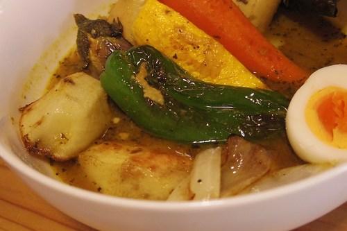 のらいぬcafeのスープカレー