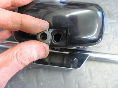 Rear Subframe Wiring Gromet