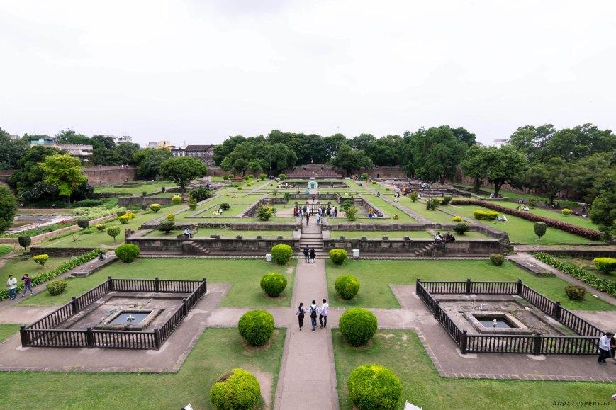 Garden of shaniwar wada pune
