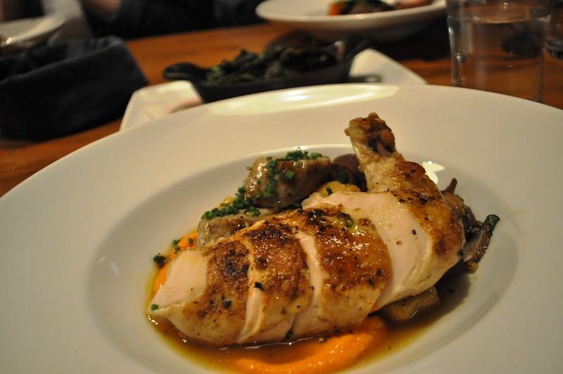 Chicken -  The River and Rail Restaurant, Roanoke, Va., April 2014 #OldSchoolVA #LoveVA