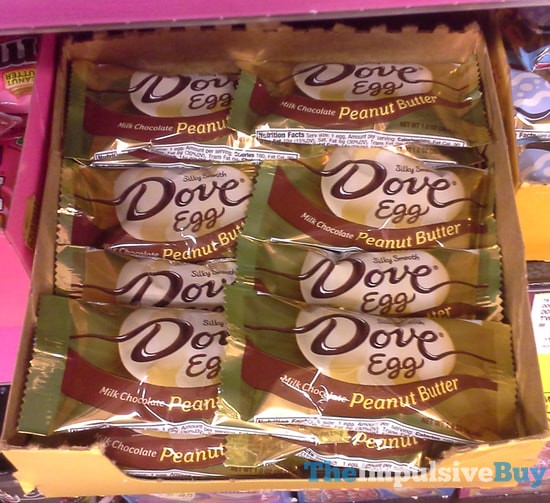 Dove Egg Milk Chocolate Peanut Butter