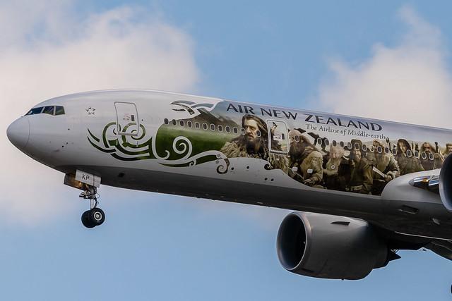 """Air New Zealand B777-319ER ZK-OKP """"The Hobbit"""""""