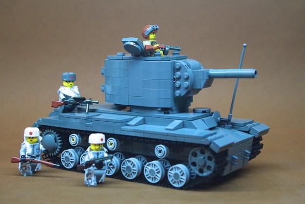 Soviet KV-2 Heavy Artillery Tank (1)
