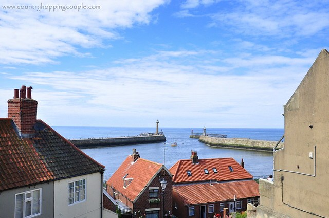 Views of North Sea from Whitby