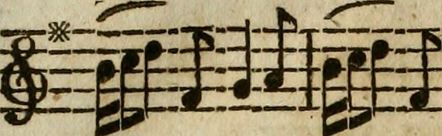 """Image from page 468 of """"Calliope: or, The musical miscellany : a select collection of the most approved English, Scots, and Irish songs, set to music"""" (1788)"""