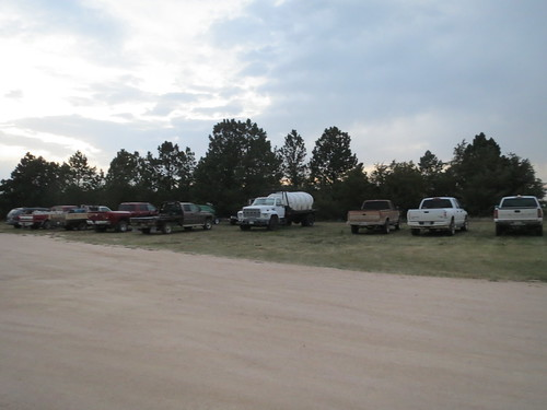 Z Crew: used car parking lot?