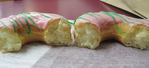 Dunkin' Donuts Peeps Donut Sawdust cake