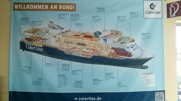 Mini Kreuzfahrt Kiel-Oslo-Kiel mit Color Line Cruises auf der Color Magic