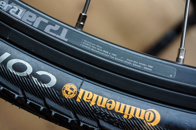 Kona Sutra with 40C tyres: tyre compatibility