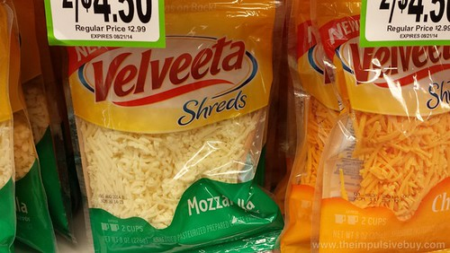 Velveeta Shreds Mozzarella and Cheddar