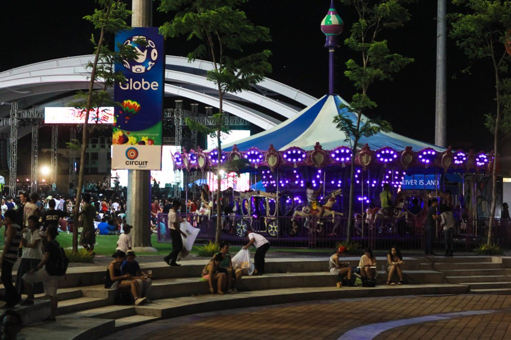 Whats Wanderland without a Carousel