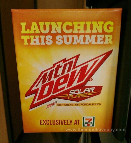 spotted on shelves mountain dew solar flare 7eleven