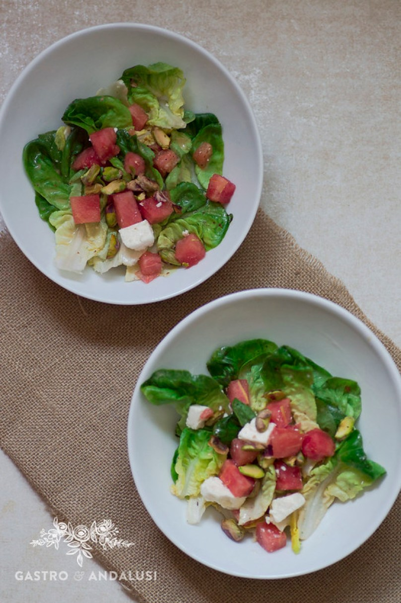 Salad Shaker Lekue, ensalada de sandia y feta