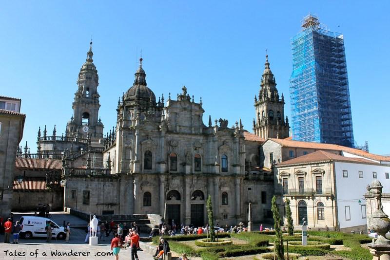 SANTIAGO DE COMPOSTELA - Praza da Inmaculada - Catedral de Santiago de Compostela
