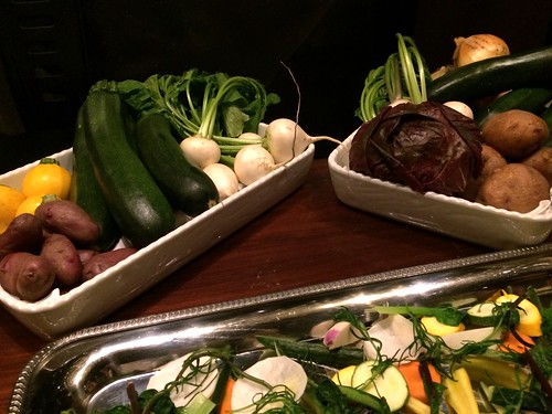 生野菜のプラッター盛り@エビベジの会