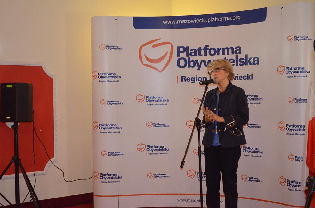 Znalezione obrazy dla zapytania Danuta Hübner  platforma o