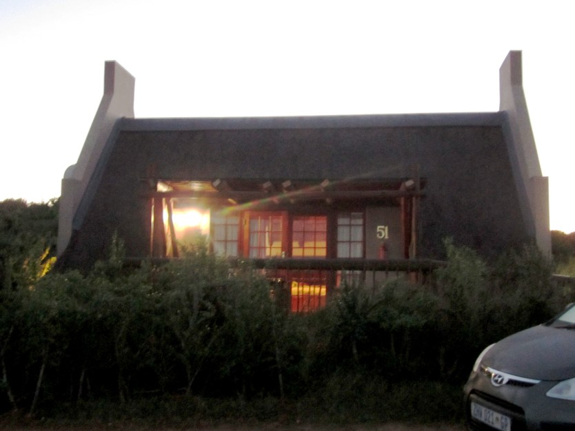 Our Cabin at Addo Elephant Park.