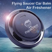 Flying Saucer Car Balm Air Freshener-papachina
