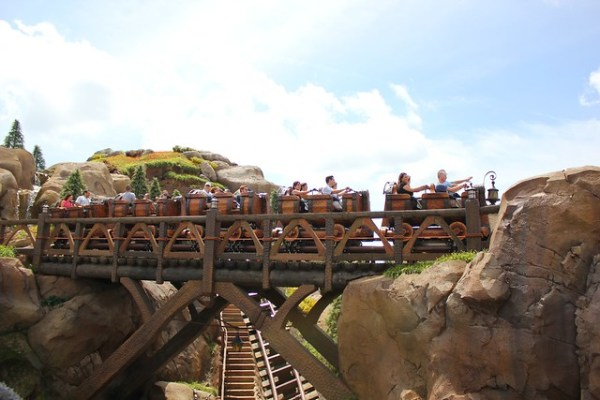 Seven Dwarfs Mine Train at Walt Disney World