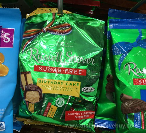 Russell Stover Sugar Free Birthday Cake Candy