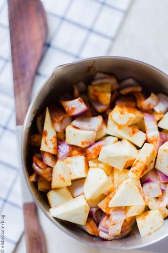 Roasted Sweet Potato and Wild Rice Salad
