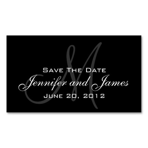 Wedding Save the Date Website Card Business Card Templates